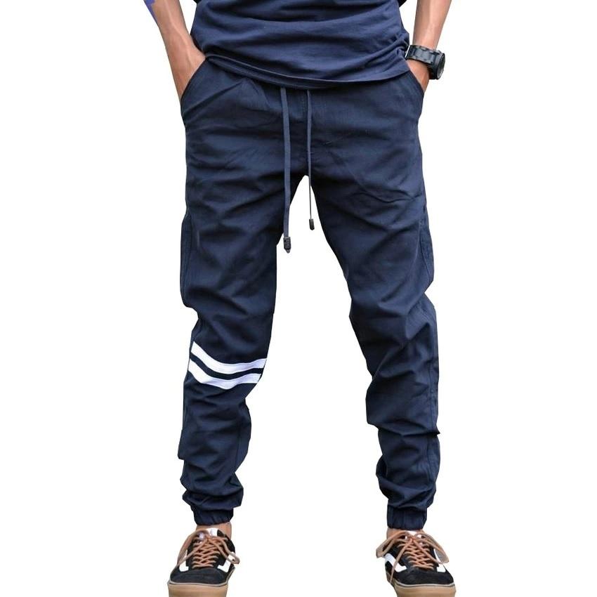 Celana Jogger Pria Batik: Celana Joger Pria Strip Model